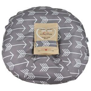 Newborn Lounger Slipcover Gray White Arrow Design